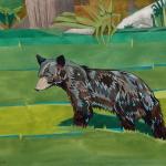 Bear Cub in the Yard